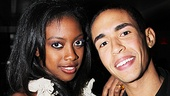 &lt;i&gt;Stick Fly&lt;/i&gt; Opening Night  Condola Rashad  Kyle Beltran 