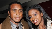 &lt;i&gt;Stick Fly&lt;/i&gt; Opening Night  Ahmad Rashad  Condola Rashad 