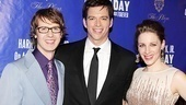 Co-stars David Turner, Harry Connick Jr. and Jessie Mueller create a complicated love triangle on stage, but they're nothing but smiles on opening night.