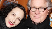 Two-time Tony winner Bebe Neuwirth attends the opening with hubby Chris Calkins.