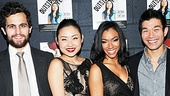 Be sure to head to the Vineyard Theatre to see Matthew Dellapina, Li Jun Li, Sonequa Martin-Green and Nelson Lee in this bi-lingual blast!