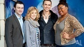 Ghost Casts Meet  Bryce Pinkham  Caissie Levy  Richard Fleeshman  DaVine Joy Randolph