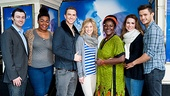 Ghost Casts Meet  Bryce Pinkham  DaVine Joy Randolph - Richard Fleeshman - Caissie Levy  Sharon D Clarke  Siobhan Dillon  Mark Evans