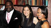 Director Diane Paulus gets sandwiched between her stars Phillip Boykin and Nikki Rene Daniels.