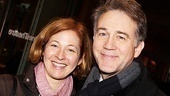 Four-time Tony winner Boyd Gaines (Gypsy) and his Broadway vet wife Kathleen McNenny (Death of a Salesman) take a family photo.