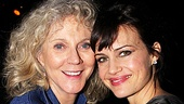 Suddenly Last Summer alums Blythe Danner and Carla Gugino go cheek-to-cheek at the opening night party.