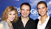 Tony-winning director Matthew Warchus is happy to be back on Broadway with talents like Caissie Levy and Richard Fleeshman by his side.