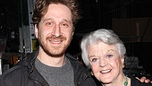 Angela Lansbury Backstage at Godspell  Angela Lansbury  Daniel Goldstein 