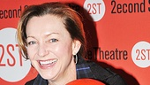 Broadway funny lady Julie White hams it up for our camera.