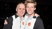 It's a reunion-filled night for Scott Ellis, who has directed shows for Second Stage and also helmed 18 episodes of Weeds, starring Hunter Parrish.