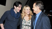 Betsy Wolfe (who plays Beth Shepard) sandwiches herself between the two Franklin Shepards, Colin Donell and Jim Walton.