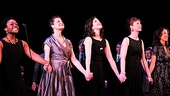Merrily We Roll Along-Kenita R. Miller, Rachel Coloff, Leah Horowitz, Mylinda Hull and Pearl Sun