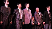 Merrily We Roll Along- Ben Crawford, Joshua Dela Cruz, Whit Baldwin, Zachary Unger, Michael Winther and Andrew Samonsky