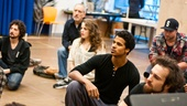 In Rehearsal with Jesus Christ Superstar – Mike Nadajewski - Sandy Winsby - Kaylee Harwood - Jaz Sealey - Matt Alfano - Ryan Gifford