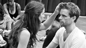 In Rehearsal with Jesus Christ Superstar  Chilina Kennedy  Paul Nolan 