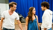 In Rehearsal with Jesus Christ Superstar  Paul Nolan  Chilina Kennedy  Josh Young