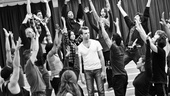 In Rehearsal with Jesus Christ Superstar   Jesus Christ Superstar ensemble  Paul Nolan