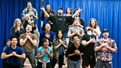 In Rehearsal with Jesus Christ Superstar  Jesus Christ Superstar cast  