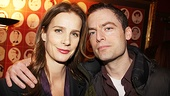 Justin Kirk supports his onstage sis Rachel Griffith.