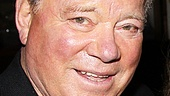 After a night on Broadway and a smashing soiree, William Shatner is ready to boldly go where few men have gone before: home to bed.