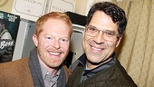 Jesse Tyler Ferguson and Christopher Innvar take a moment for a photo. 