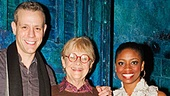 Estelle Parsons Backstage at Memphis Adam Pascal - Estelle Parson  Montego Glover
