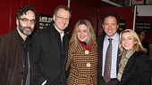 Carrie - Don McKeller Bob Martin, Lisa Lambert, producer Kevin McCollum and wife Lynette Perry McCollum