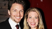 Always the supportive husband, fellow actor Jason Danieley shares the night with wife and Carrie star Marin Mazzie.