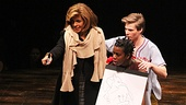 Kathie Lee and Hoda at Godspell   Hoda Kotb  Uzo Aduba  Hunter Parrish