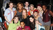 Kathie Lee and Hoda at Godspell – Kathie Lee Gifford – Hoda Kotb - cast of Godspell