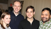 Peter and the Starcatcher Meet and Greet  Betsy Hogg  John Sanders  Jason Ralph  Orville Mendoza 