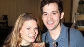 Peter and the Starcatcher Meet and Greet  Celia Keenan-Bolger  Adam Chanler-Berat 