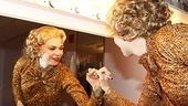 The Tony winner leaves a goodbye note on her dressing room mirror.