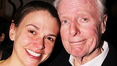 John McMartin may crack up the audience onstage, but he's sad to say goodbye to his lovely co-star, Sutton Foster.
