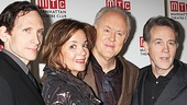 Stephen Kunken, Margaret Colin, John Lithgow and Boyd Gaines star in the newsworthy play The Columnist.