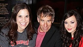 Lindsay Mendez and Anna Maria Perez de Tagle are thrilled to join their Godspell composer for a birthday celebration.