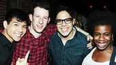 Nick Blaemire Hustle Album Release Party – Telly Leung – Nick Blaemire – George Salazar – Uzo Aduba