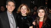 Tony winner Boyd Gaines takes in the  revival with his wife Kathleen McNenny and their lovely daughter Leslie Gaines.