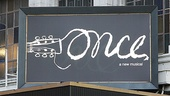 Once opening night  marquee