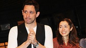Steve Kazee and Cristin Milioti get emotional as they invite their show's composers on stage.
