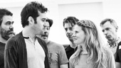 Peter and the Starcatcher Rehearsal  Adam Chanler-Berat  Celia Keenan-Bolger  The Company