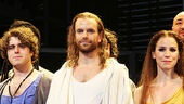 Jesus Christ Superstar opening night  Josh Young  Paul Nolan  Chilina Kennedy