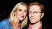 JCS choreographer Lisa Shriver is excited to join Broadway favorite Anthony Rapp for an opening night photo.