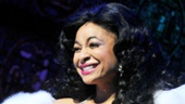Raven-Symon lights up the stage at her very first Broadway curtain call&#8212;and its not just the sequins! 