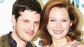 Though they play the Lyons' estranged children, Michael Esper and Kate Jennings Grant look thick as thieves in real life.