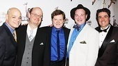 Newsies  Opening Night  John E. Brady - Nick Sullivan  Mark Aldrich  Kevin Carolan - Stuart Marland
