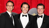 The gentleman of End of the Rainbow, Jay Russell, Tom Pelphrey and Michael Cumpsty, sure look dapper.