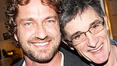 We'd love to see Peter helmer Roger Rees direct Gerard Butler on the Great White Way!