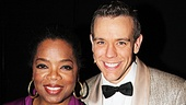 Adam Pascal is beyond thrilled to welcome Oprah to the Shubert Theatre.