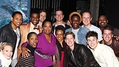 Oprah Visits Memphis  Oprah Winfrey and the Memphis ensemble